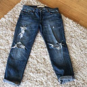 Gap relaxed boyfriend jeans